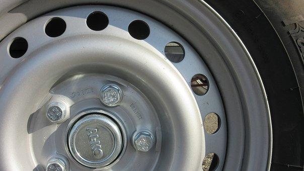 Wheel, Rim, Mature, Metal, Rubber, Vehicle, Transport