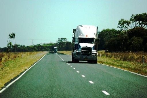 Truck, Australia, Highway, Transport, Semi Trailers