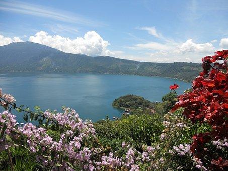 Lake, Viewpoint, Coatepeque, Santa Ana, The Congo