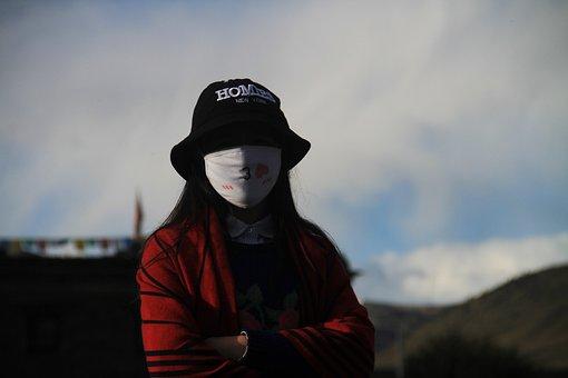 Woman, Facial Mask, Wassily Kandinsky, Beauty
