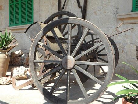 Wagon Wheel, Dare, Coach, Wooden Wheel, Old, Wheels