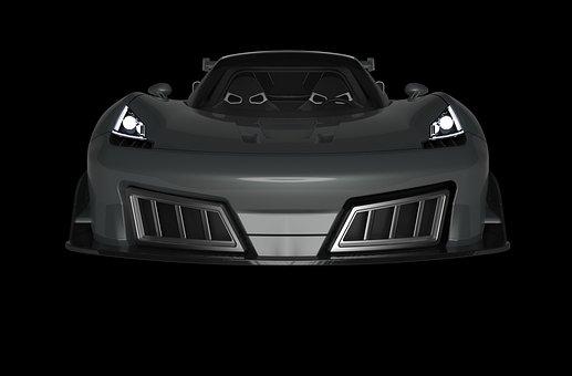 Sports Car, 3d, Model, 3d Model, Render