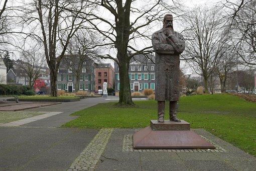 Park, Friedrich Engels, Wuppertal, Barmen