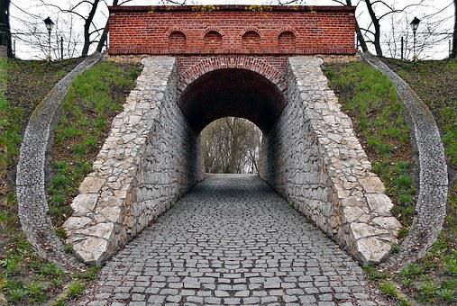 Transition, Gateway, Pavement, Symmetry, Culvert