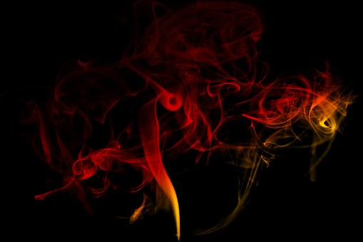 Smoke, Colorful, Abstract, Digital Art, Artwork
