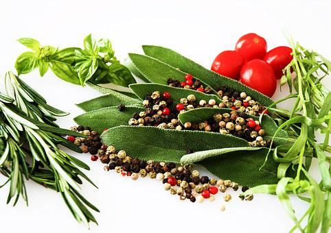 Spices, Herbs, Food, Pepper, Leaf, Flavor, Rosemary
