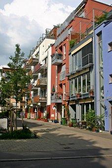 Tübingen, French Quarter, French, City