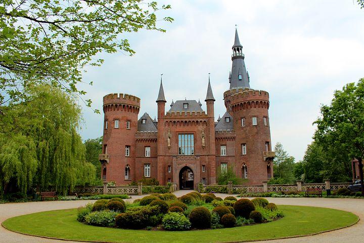 Schloss Moyland, Castle, Architecture, Park, Germany