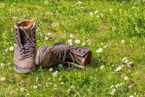Hiking, Shoes, Nature, Hiking Shoes, Hike, Outdoor