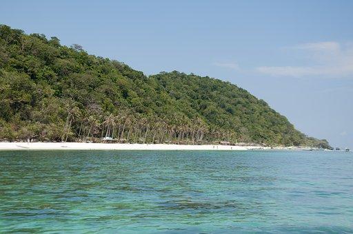 Beach, Island, Landscape, Water, Paradise, Sea, Costa
