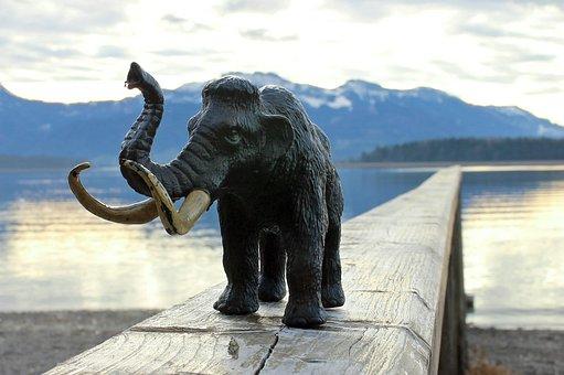 Mammoth, Elephant, Tusks, Ivory, Mammal, Ruesseltier