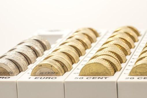 Money, Coins, Euro, Currency, Specie, Metal