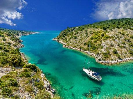 Scenery, Tropical, Boat, Sailing Boat, Sailing