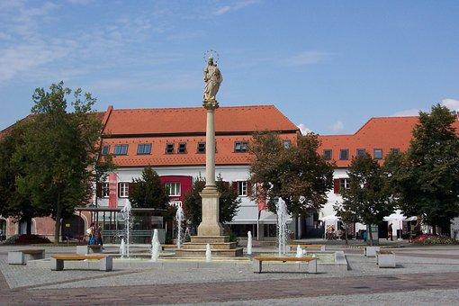 Furstenfeld, Fölöstöm, Styria, Austria, City