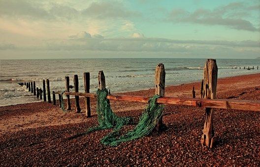 Rye, Sussex, Beach, Sea, Shore, Sand, England, East