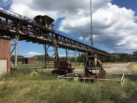 Crane, Bridge, Industrial, Decay, Usedom