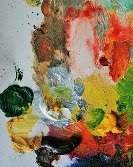 Painting, Paint, Palette, Oil, Artist, Brush, Artistic