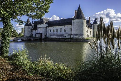 Castle Plessis-packed, Medieval, Middle Ages