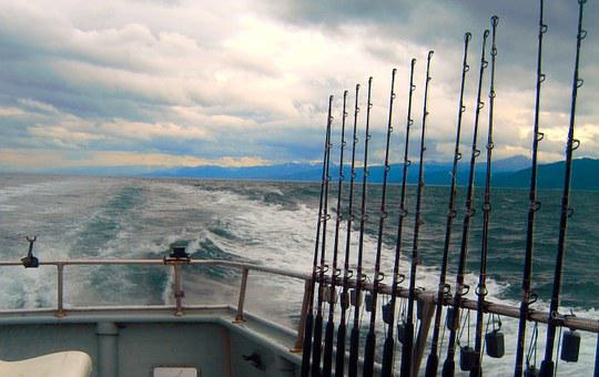 Alaska, Fishing, Cook's Inlet, Boat, Offshore