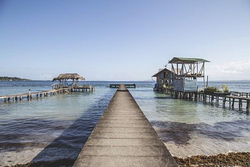 Sea, Pier, Ocean, Water, Dock, Nature, Landscape