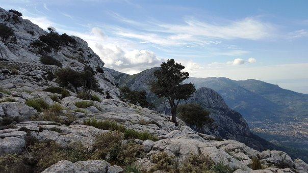 Mountain, Top, Excursion, Mallorca, Saw Tramutana
