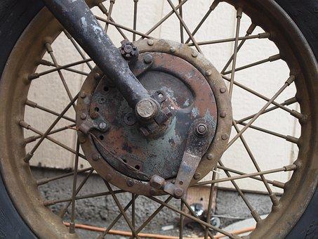 Motorcycle, Front Wheel, Mature, Harley Davidson, Cult