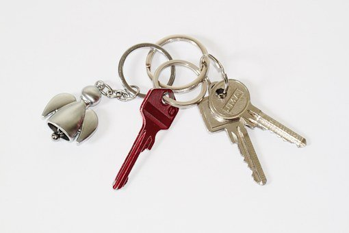 Key, Keychain, Door Key, House Keys, Shut Off, Security
