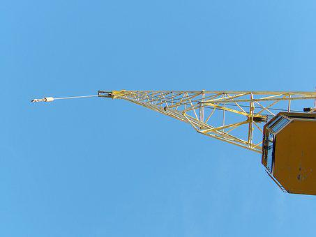 Crane, Industry, Metal, Commercial Port, Wharf