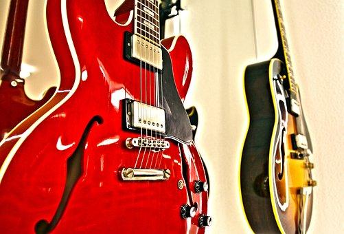 E Guitar, Gibson, Lespauls, Guitar, Music, Instrument