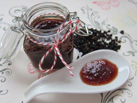 Elderberry Marmalade, Jam, Marmalade, Jelly, Breakfast