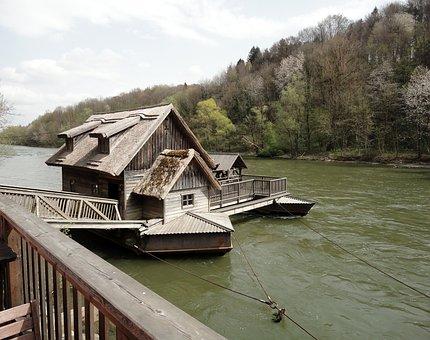 Mill, Ship Mill, Bruck Of Muhr, Styria, Austria