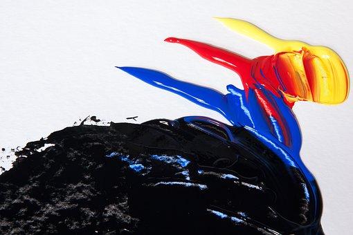 Acrylic Paints, Color, Color Mixing, Colorful, Mix