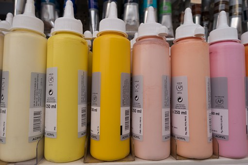 Color, Acrylic Paints, Paint, Colorful, Painting, Art