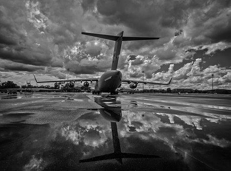 Aircraft, Plane, Jet, Military, Air Force, Sky, Clouds
