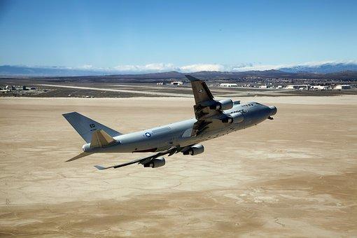 Edwards Afb, California, Plane, Aircraft, Jet