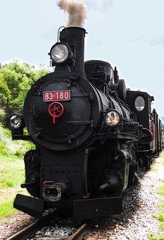 Train, Scenery, Steam, Traffic, Railway, Gleise, Loco