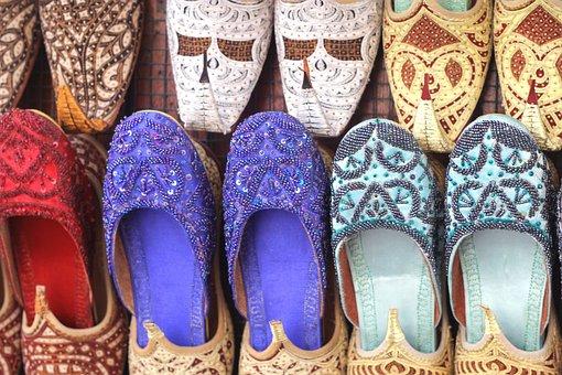 Dubai, Shoes, Arab, Arabic, Traditional, Slipper