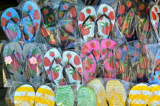 Slippers, Mountain Pine, Sandals
