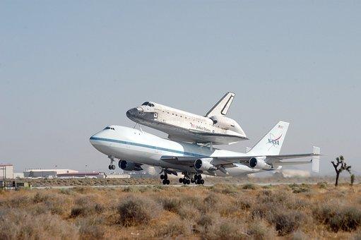 Space Shuttle, Nasa, Shuttle Transportation, Piggyback