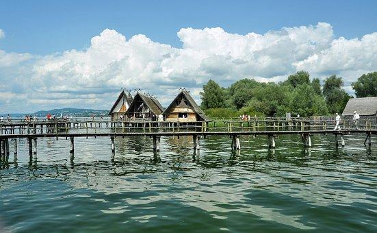 Uhldingen, Lake Constance, Stilt Houses, Stilt Village