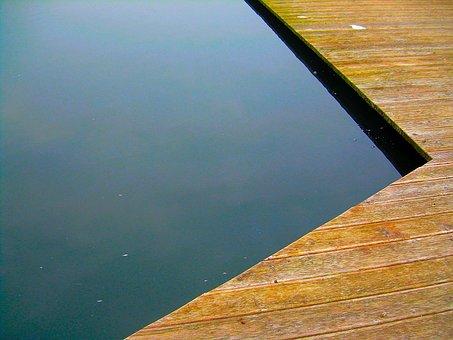 Pier, Wooden, Planks, Water, Sea, Jetty, Lake, Tourism