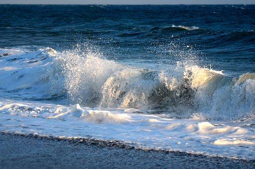 Surf, Beach, Sea, Wave, Coast, Water, Ocean