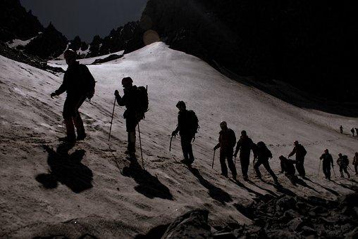 Peak, Summit, Top, Alone, Loneliness, Mountaineer