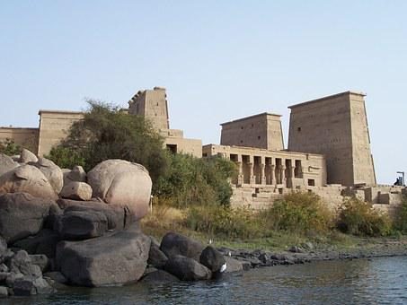 Aswan, Egypt, Architecture, Ancient, Travel, Egyptian