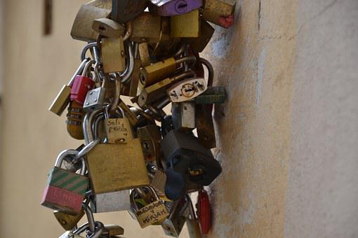 Castle, Blocked, Closed, Security, Chain, Padlock