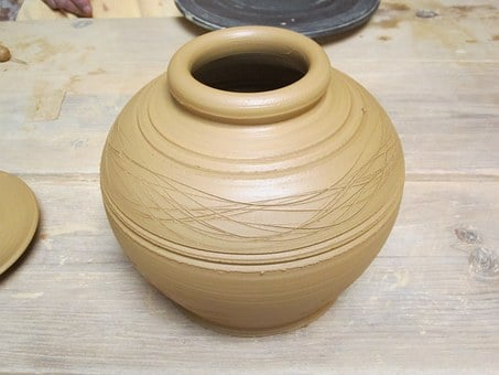 Mud, Mexico, Crafts, Traditional, Ceramic Pot, Mexican