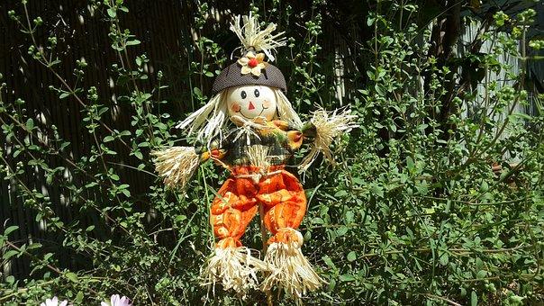 Scarecrow, Doll, Traditional, Harvest, Farm, Straw