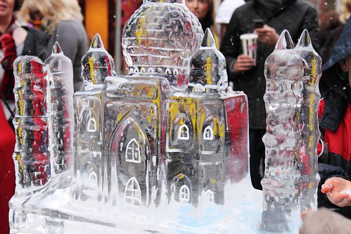 Christmas, Cold, Crystal, Frost, Frozen, Ice, Sculpture
