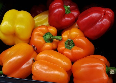 Bell Peppers, Red Bell Peppers, Green Bell Peppers