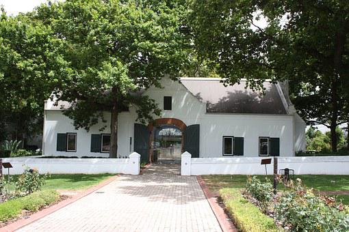 South Africa, Estate Of La Motte, Winery, House